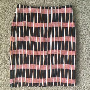 NWT Ann Taylor Factory striped pencil skirt